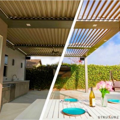 Retractable Pergola system